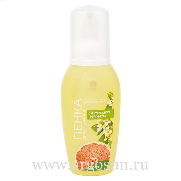 Пенка для умывания с фрутапоном грейпфрута